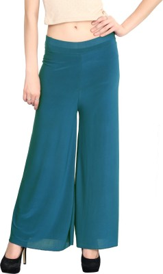 ELVIN Regular Fit Women's Green Trousers
