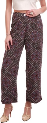 Sassafras Regular Fit Women,s Multicolor Trousers