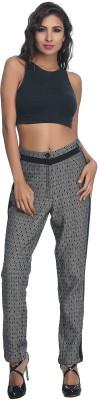 Rare Regular Fit Women's Black Trousers at flipkart