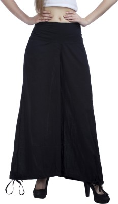 Indi Bargain Regular Fit Womens Black Trousers