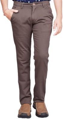 British Terminal Slim Fit Mens Grey Trousers