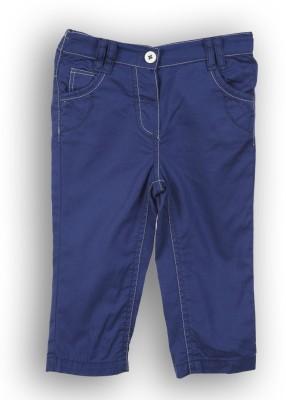 Lilliput Regular Fit Girl's Blue Trousers
