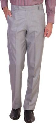Maciej Regular Fit Men's Grey Trousers