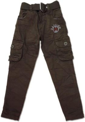 Vio Regular Fit Boy's Brown Trousers
