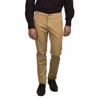 Ruace Slim Fit Men's Brown Trousers