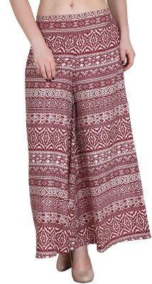 Myshka Regular Fit Women's Multicolor Trousers at flipkart