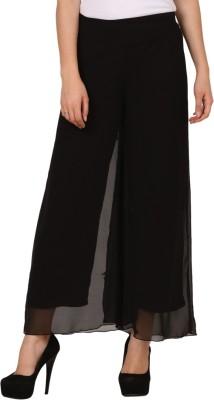 Pretty Angel Regular Fit Women's Black Trousers