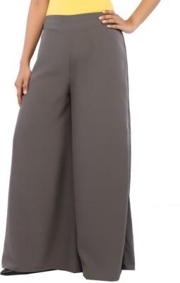 Rigoglioso Regular Fit Women's Grey Trousers