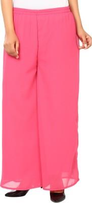 Haniya Regular Fit Women's Pink Trousers
