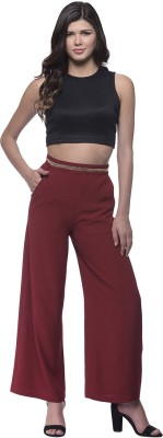 Nineteen Regular Fit Women's Red Trousers
