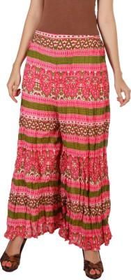 Vedic Regular Fit Women's Pink Trousers