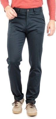 Sting Regular Fit Men's Blue Trousers