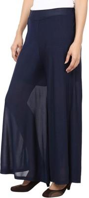Fashion Arcade Regular Fit Women's Dark Blue Trousers