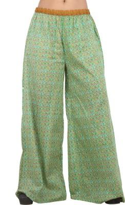 Pujarika Regular Fit Women's Multicolor Trousers