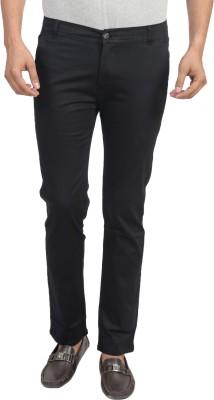 Trendy Trotters Regular Fit Men's Black Trousers