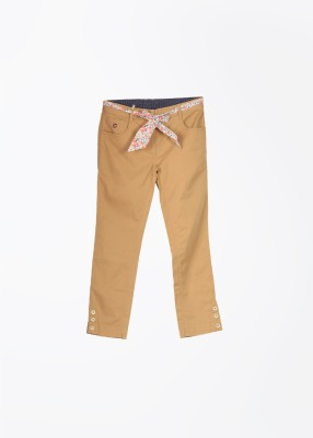 U.S. Polo Assn. Girl's Beige Trousers
