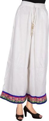 Decot Paradise Regular Fit Women's White Trousers