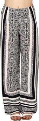 20Dresses Regular Fit Women's Black, White Trousers