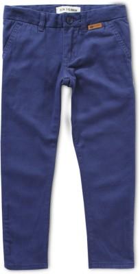 Ben Sherman Regular Fit Boy's Blue Trousers