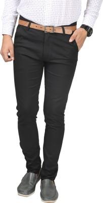 Paranoid Slim Fit Men's Black Trousers