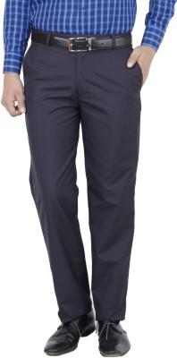 Frankline Regular Fit Men,s Dark Blue Trousers