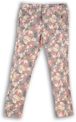 Lilliput Regular Fit Girl's Multicolor Trousers