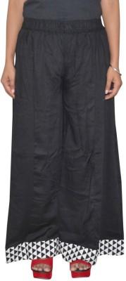 Pezzava Regular Fit Women's Black, White Trousers