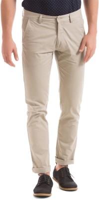 Izod Slim Fit Men's Beige Trousers
