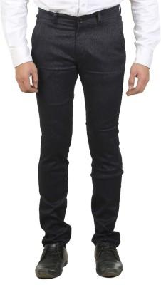 Ethzone Slim Fit Men's Blue Trousers