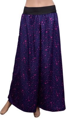 GraceDiva Regular Fit Women's Dark Blue, Pink Trousers