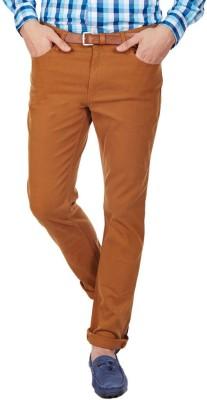 American Swan Slim Fit Men's Yellow Trousers
