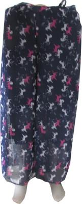 Zola Regular Fit Women's Dark Blue, White, Pink Trousers
