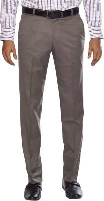 Flags Regular Fit Men's Brown Trousers