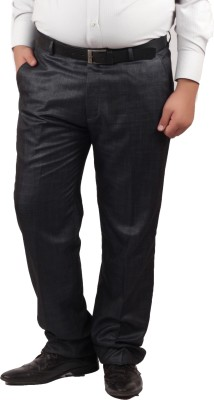 RIPARV Regular Fit Men's Blue, Grey Trousers