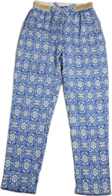 Allen Solly Regular Fit Girl's Blue Trousers