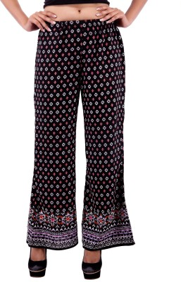 Goodwill Impex Regular Fit Women's Black Trousers