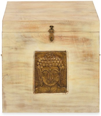 @home by Nilkamal Buddha Solid Wood Trun...