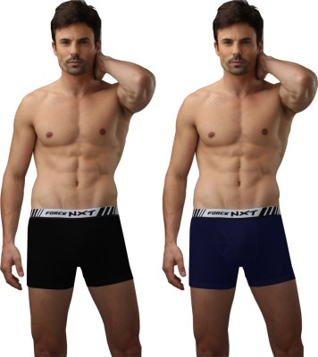 Force Nxt Relaxz-Rib-Colour Men's Trunks