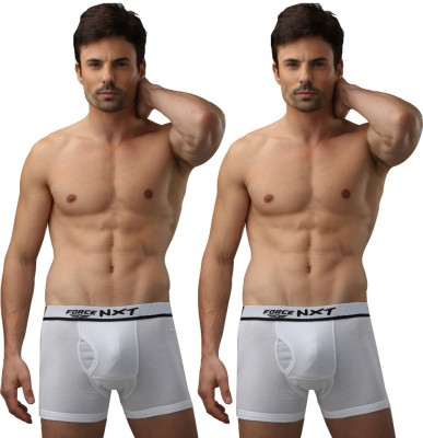 Force Nxt Finez-Urban-White Men's Trunks
