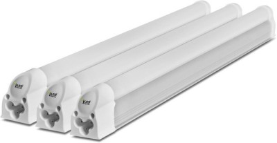 Imperial 6 Watt LED Tubelight, (Yellow, T5, 1 Feet) Pack of 3 Straight Linear LED