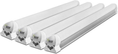 Imperial 6 Watt LED Tubelight, (White, T8, 1 Feet) Pack of 4 Straight Linear LED