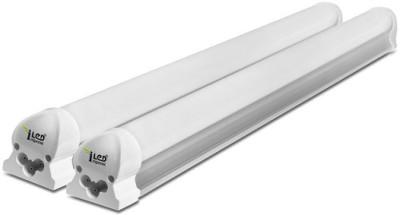 Imperial 6 Watt LED Tubelight, (Yellow, T8, 1 Feet) Pack of 2 Straight Linear LED