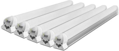 Imperial 5 Watt LED Tubelight, (White, T8, 1 Feet) Pack of 5 Straight Linear LED