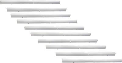 EPSORI Led Tube Light Jeyx T5 10watt 2feet 6500k White Set of 10 Straight Linear LED