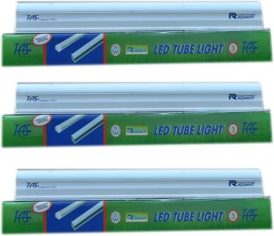 Radiant 1 feet Straight Linear LED(White, Pack of 3)