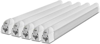 Imperial 5 Watt LED Tubelight, (White, T5, 1 Feet) Pack of 5 Straight Linear LED