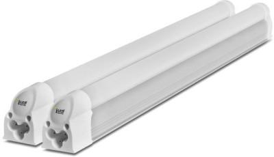 Imperial 5 Watt LED Tubelight, (White, T5, 1 Feet) Pack of 2 Straight Linear LED