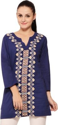 Global Colours Embroidered Women's Tunic