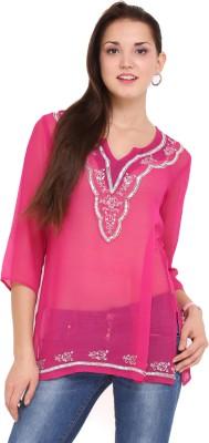 Lubaba Solid Women's Tunic