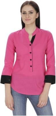 DIEU Solid Women's Tunic